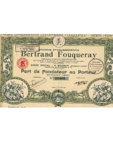 Anciens Ets Bertrand Fouqueray