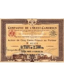 Cie de L'Ouest-Cameroun