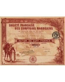 Sté Française des Comptoirs Marocains