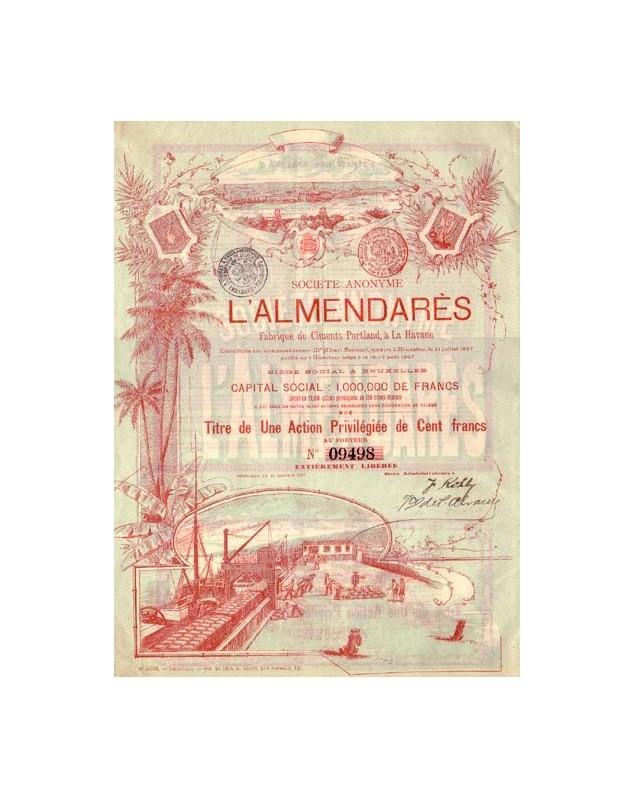 S.A. L'Almendarès, Fabrique de Ciments Portland à La Havane (Havana, Cuba)