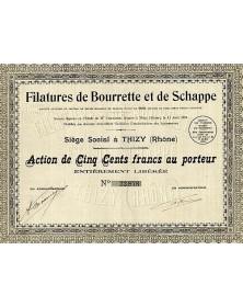 Filatures de Bourrette et de Schappe