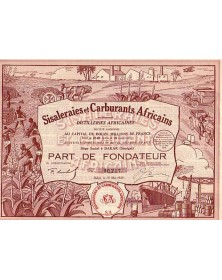 Sisaleraies et Carburants Africains (anciennement Distilleries Africaines)