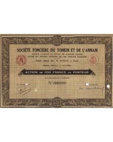 Sté Foncière du Tonkin et de l'Annam