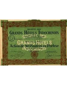 Sté des Grands Hôtels Indochinois