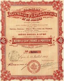 Cie Lyonnaise d'Exploration et de Banque