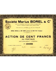 Sté Marius Borel & Co.