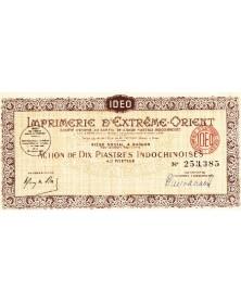 Imprimerie d'Extrême-Orient (Printing)