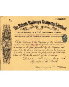The Nitrate Railways Co. Ltd