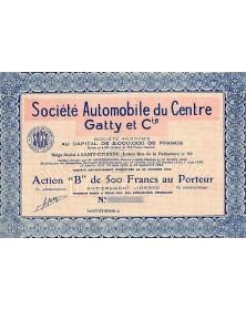 Sté Automobile du Centre Gatty et Cie