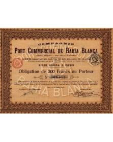Cie du Port Commercial de Bahia Blanca (Puerto Belgrano)