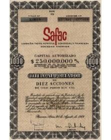 SAFAC (Compañia Fabril Agricola Comercial Y Financiera)