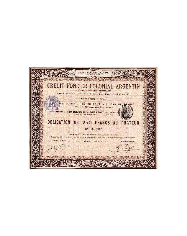 Crédit Foncier Colonial Argentin