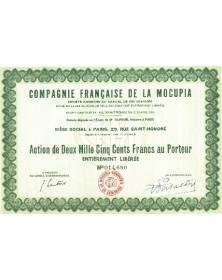 Cie Française de la Mocupia