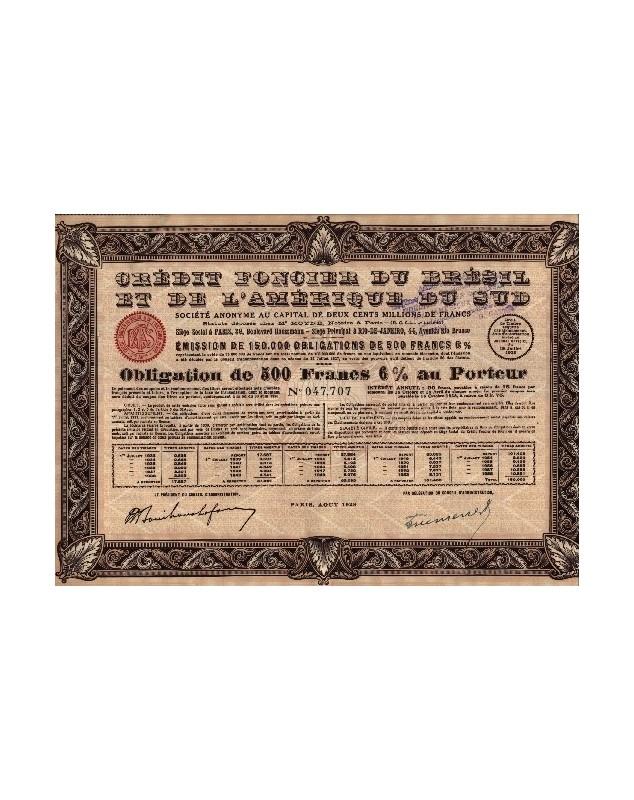 Crédit Foncier du Brésil et de l'Amérique du Sud
