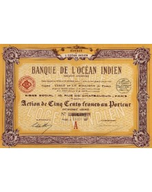 Banque de l'Océan Indien
