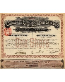 Canadian Coal Consolidated Ltd.