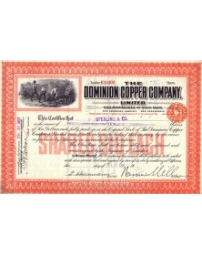The Dominion Copper Co. Ltd