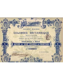 Sté Minière de la Colombie Britannique