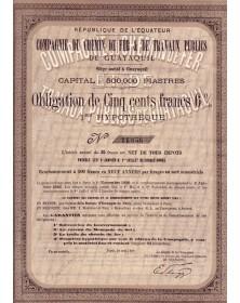 Cie du Chemin de Fer & de Travaux Publics de Guayaquil