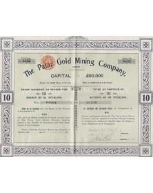 The Pataz Gold Mining Company Ltd.
