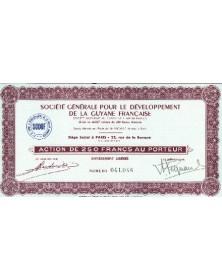 Sté Générale pour le Développement de la Guyane Française