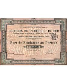 Cie Française des Pétroles de l'Amérique du Sud