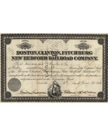 Boston, Clinton, Fitchburg New Bedford Railroad Co.