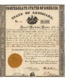 Confederate States of America. State of Louisiana