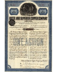 Butte and Superior Copper Co.
