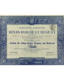 Mines d'Or de L'Uruguay