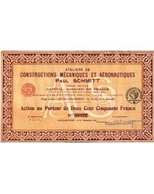 Ateliers de Constructions Mécaniques et Aéronautiques Paul Schmitt