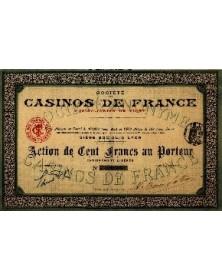 Sté des Casinos de France