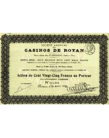 Sté des Casinos de Royan