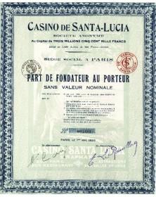 Casino de Santa-Lucia - St-Raphaël