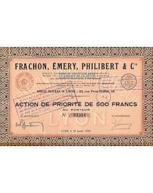 Frachon, Emery, Philibert & Cie (Soieries)