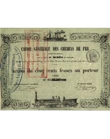 Caisse Générale de Chemins de Fer - Mires et Cie
