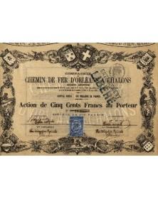 Cie du Chemin de Fer d'Orléans à Chalons