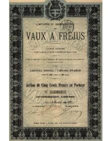 Cie du Chemin de Fer des Vaux à Fréjus