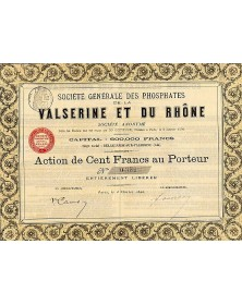 Sté des Phosphates Valserine et du Rhône