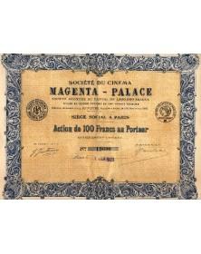 Sté du Cinéma Magenta-Palace