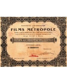 Sté Française des Films Métropole