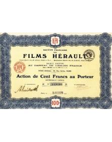 Sté Française des Films Hérault