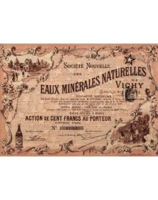 Sté Nouvelle des Eaux Minérales Naturelles de Vichy - Source des Etoiles