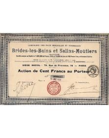 Cie des Eaux Minérales et Thermales de Brides-les-Bains & Salins-Moûtiers