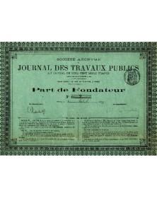 S.A. du Journal des Travaux Publics