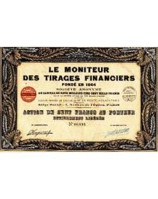 Le Moniteur des Tirages Financiers Fondé en 1864