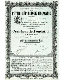 Sté Nouvelle de la Petite République Française