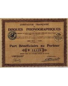 Cie Française de Disques Phonographiques