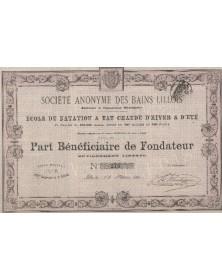 S.A. des Bains Lillois Ecole de Natation à Eau Chaude d'Hiver & d'Eté