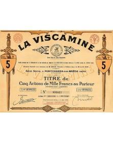 """La Viscamine, Au Chevalier Bayard, Marque déposée """"Sans Peur et sans Reproche""""Textiles/Silk"""